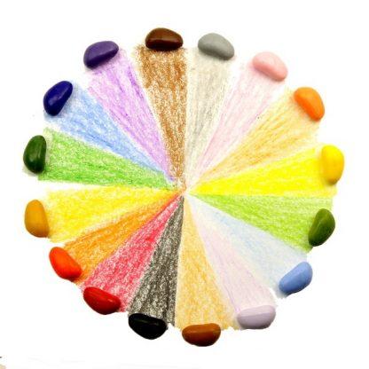 crayonrocks 16 kleuren waxkrijtjes