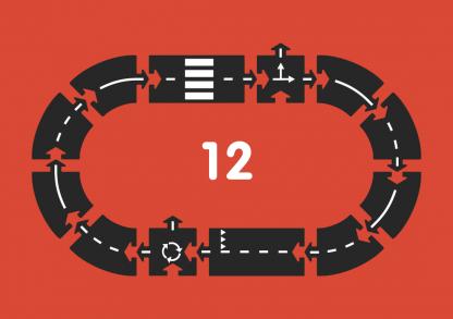 waytoplay ringroad 12 delen layout