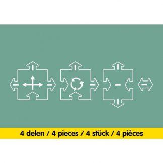 waytoplay uitbreiding kruising inhoud 4 delig