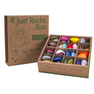 Crayon Rocks (2x 32 kleuren - 62 krijtjes) Schooldoos