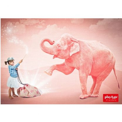 play en go speelzak pink elephant imago