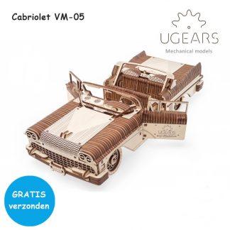 ugears cabriolet vm-05 voorkant