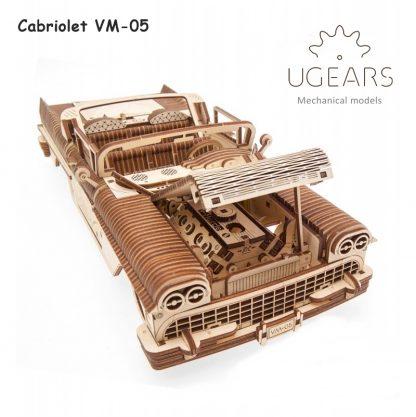 ugears cabriolet vm-05 voorkant open