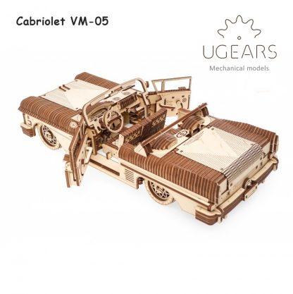 ugears cabriolet vm-05 zijkant
