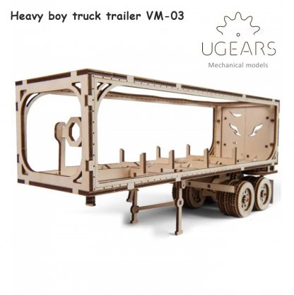 ugears heavy boy trailer voorkant