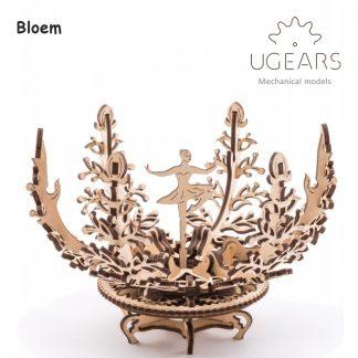 ugears mechanische bloem