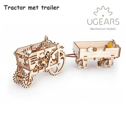 ugears tractor en trailer
