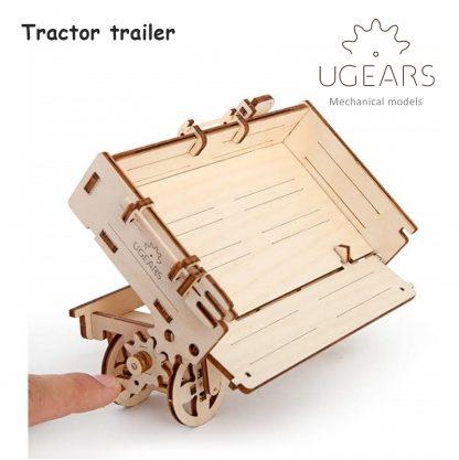 ugears tractor trailer werking