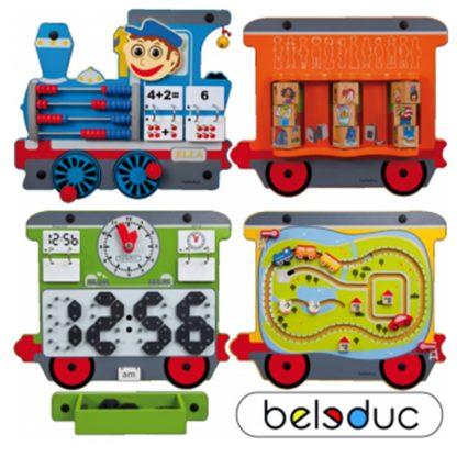 beleduc complete speelwand ella trein