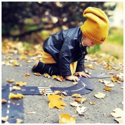 waytoplay flexibele baandelen in de herfst buiten spelen